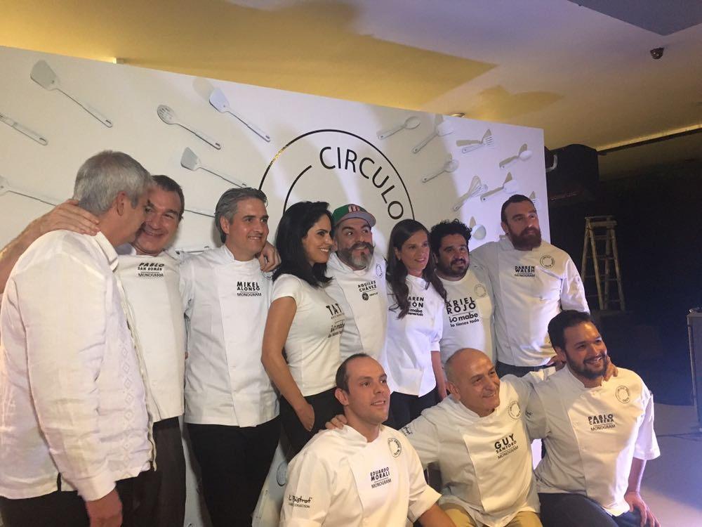 Chefs mexicanos celebran el aniversario de Círculo Prime Blend