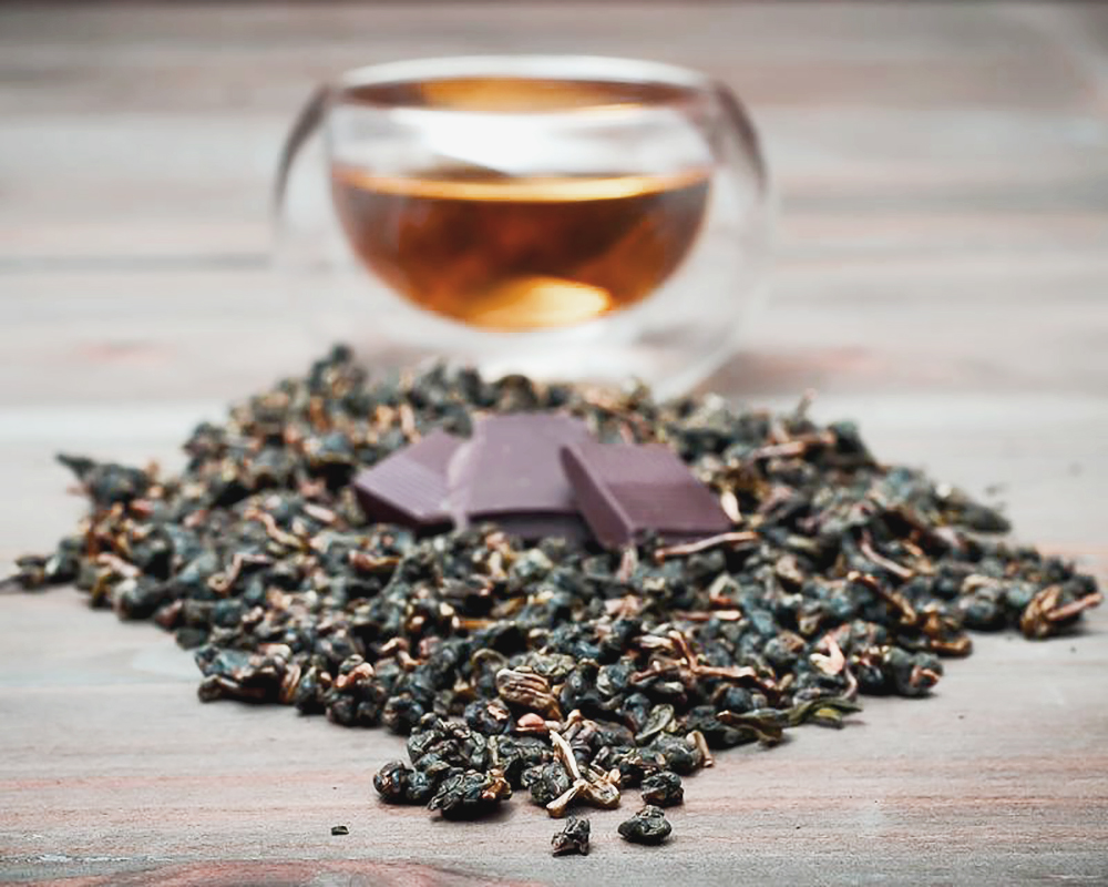 Té + chocolate: encuentro armónico