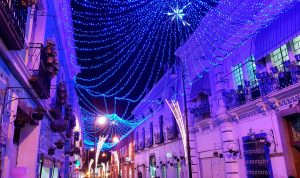 Villas navideñas en México