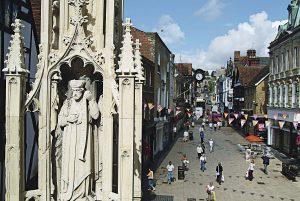 Winchester, el alter ego de Londres