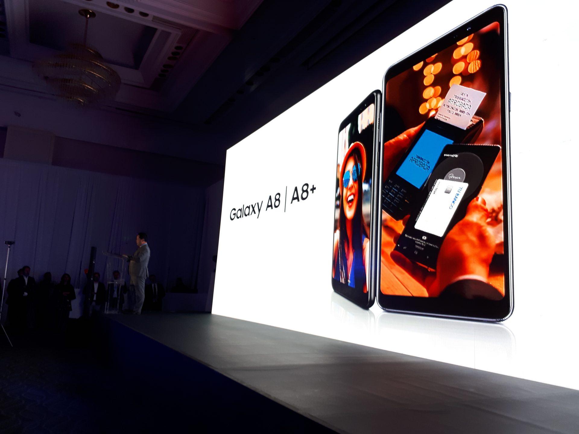 Samsung Galaxy A8 facilita tu vida