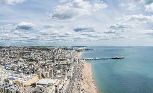 Brighton, de belleza costera
