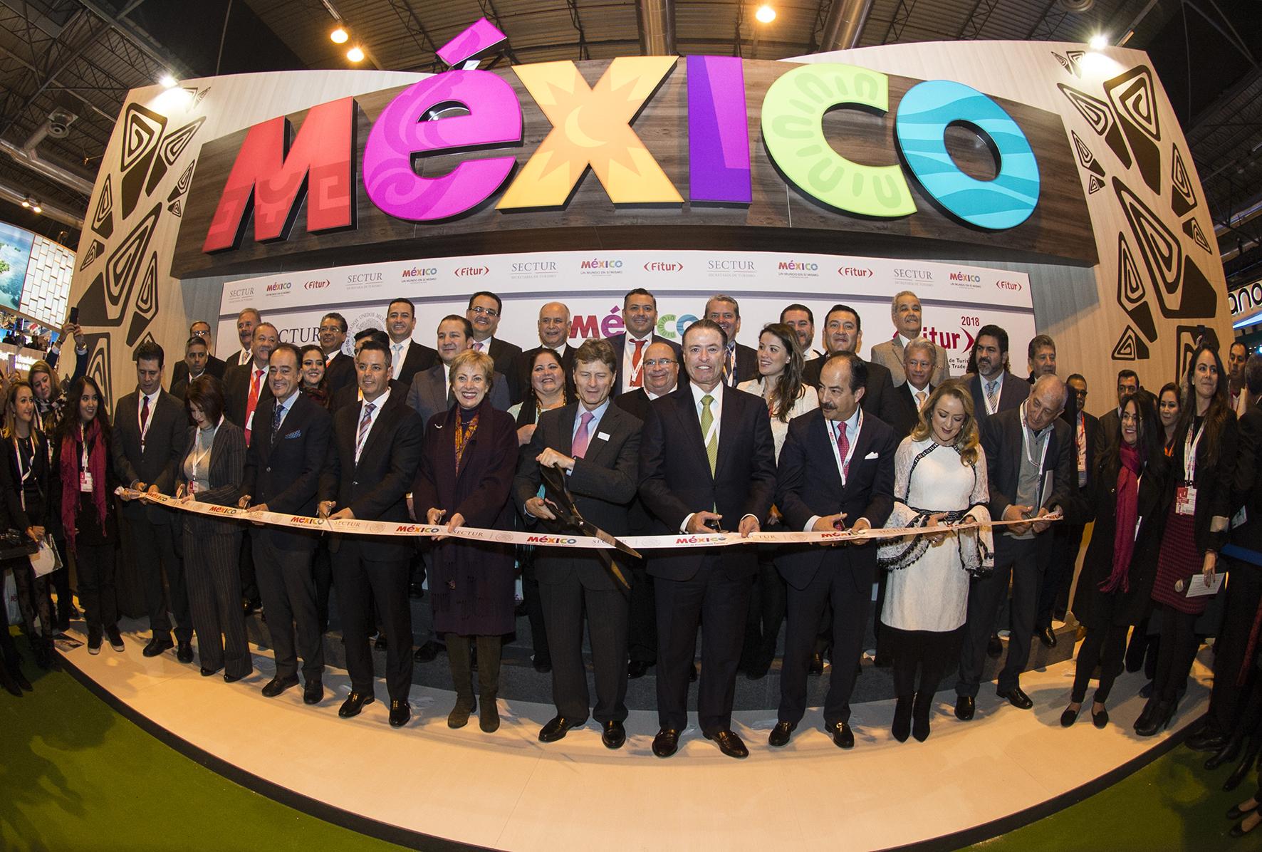 México en la Feria Internacional Fitur-Madrid 2018
