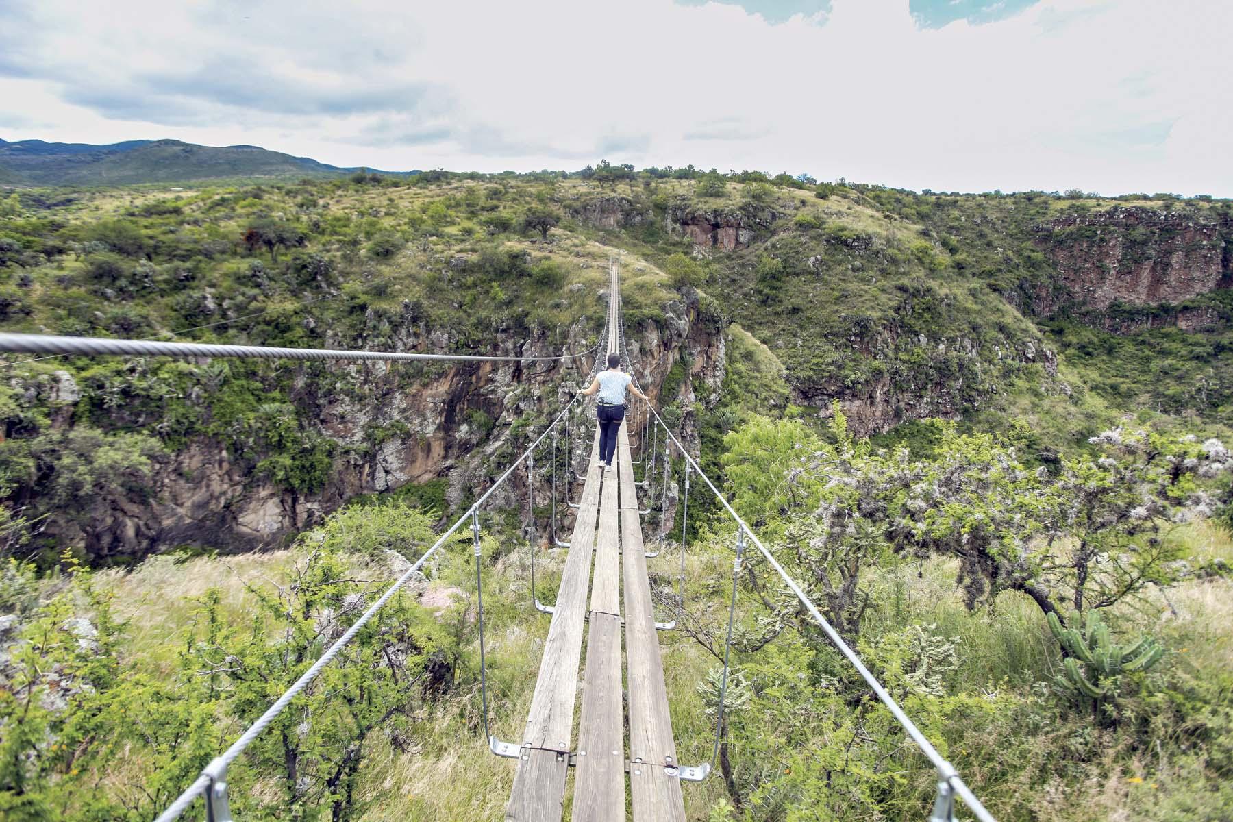 San Miguel de Allende también es tierra de aventuras