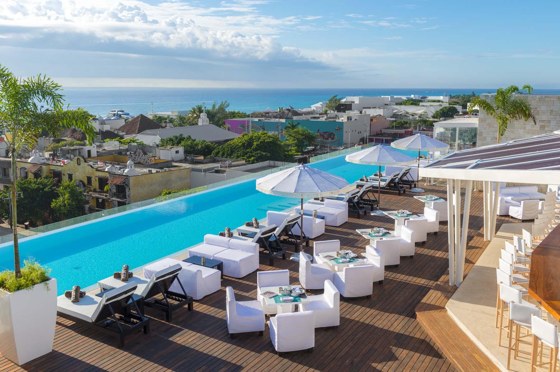 The Fives Downtown: bajo el Sol de Riviera Maya