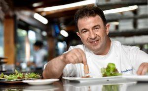 Martín Berasategui comparte su cocina