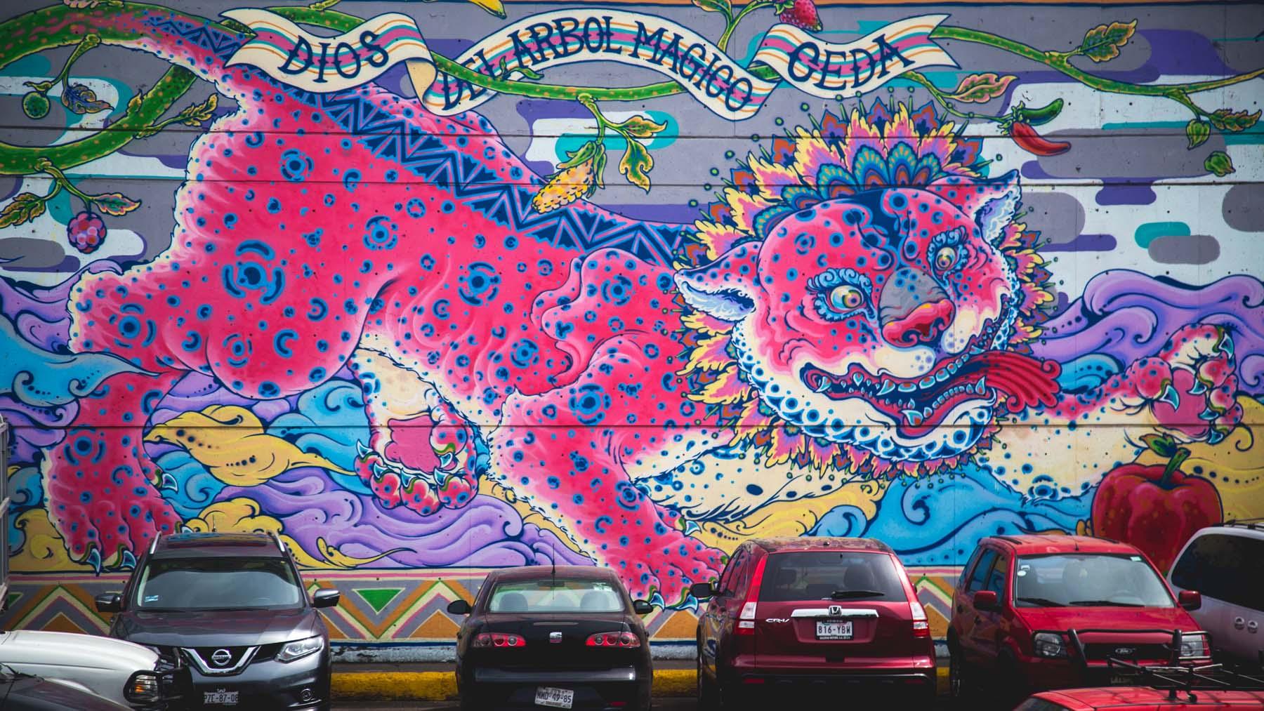 Central de Muros llena de arte la Central de Abasto