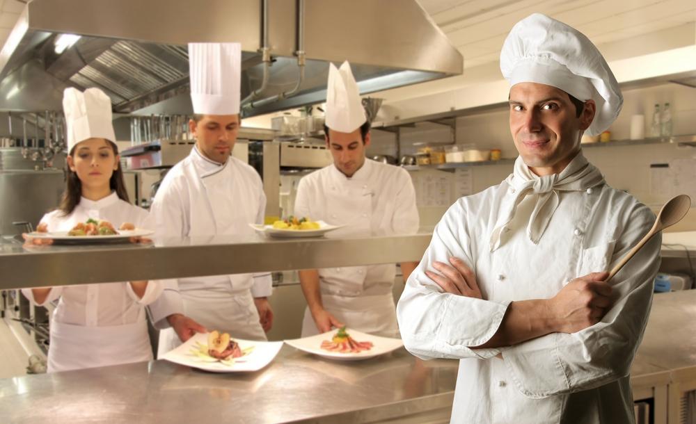 Tipos de chefs en un restaurante