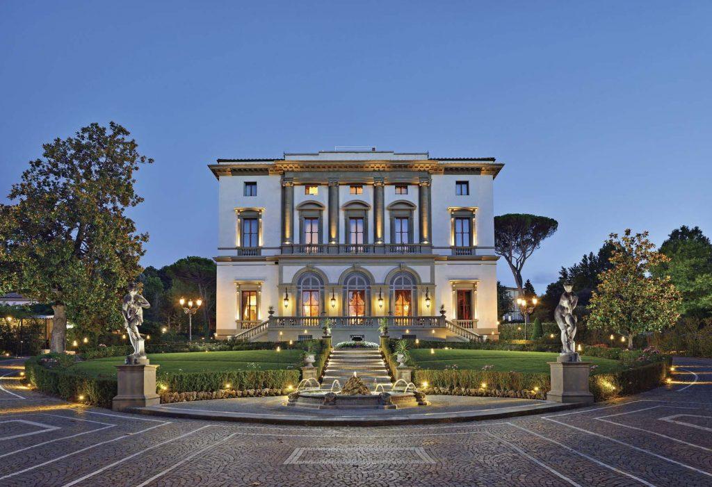 Villa Cora, Florencia: placeres aristocráticos