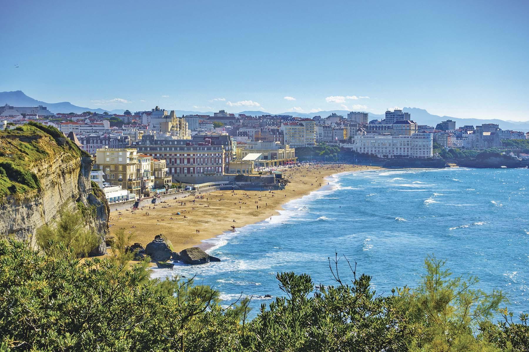 Biarritz, de magia costera