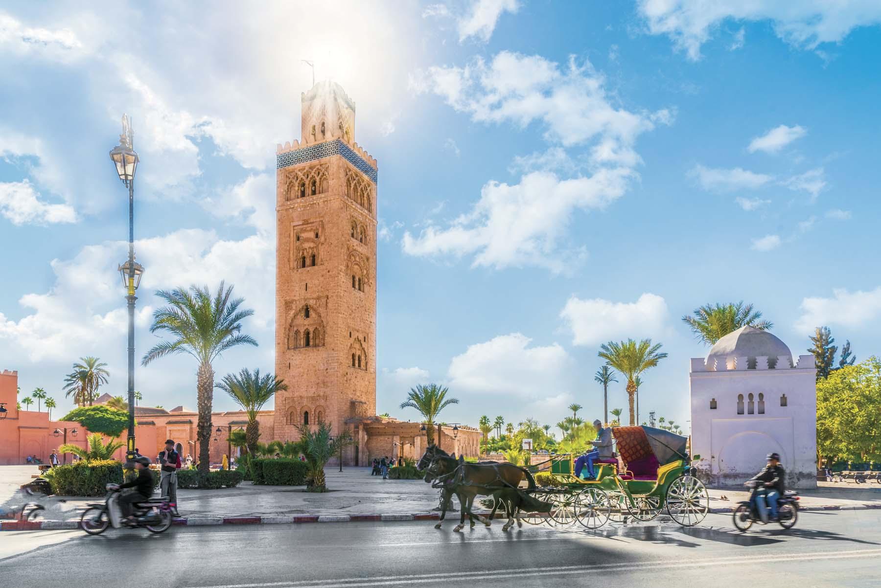 Marrakech: asalto a los sentidos