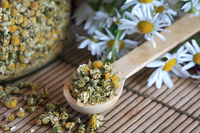 Manzanilla y té: la pareja perfecta