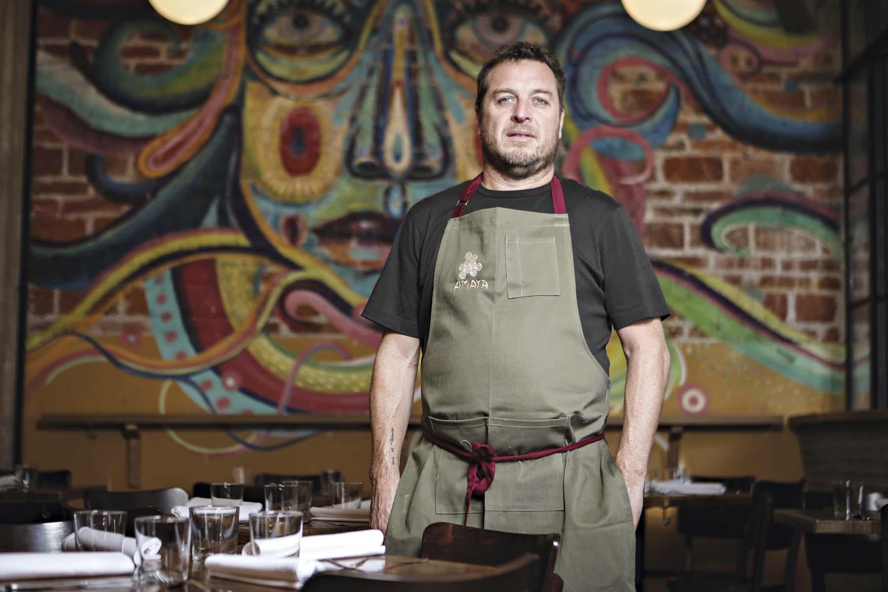 Para compartir con el chef Jair Téllez