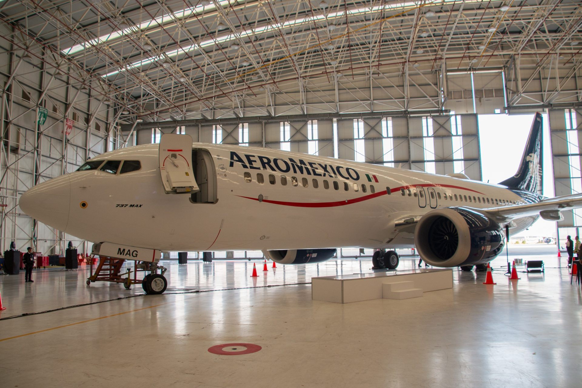 Aeroméxico presenta uno de los aviones más modernos del mundo