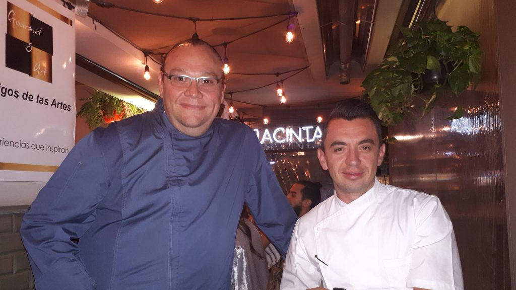Edgar Núñez y Pedro Evia unieron su talento por Gourmet & Art