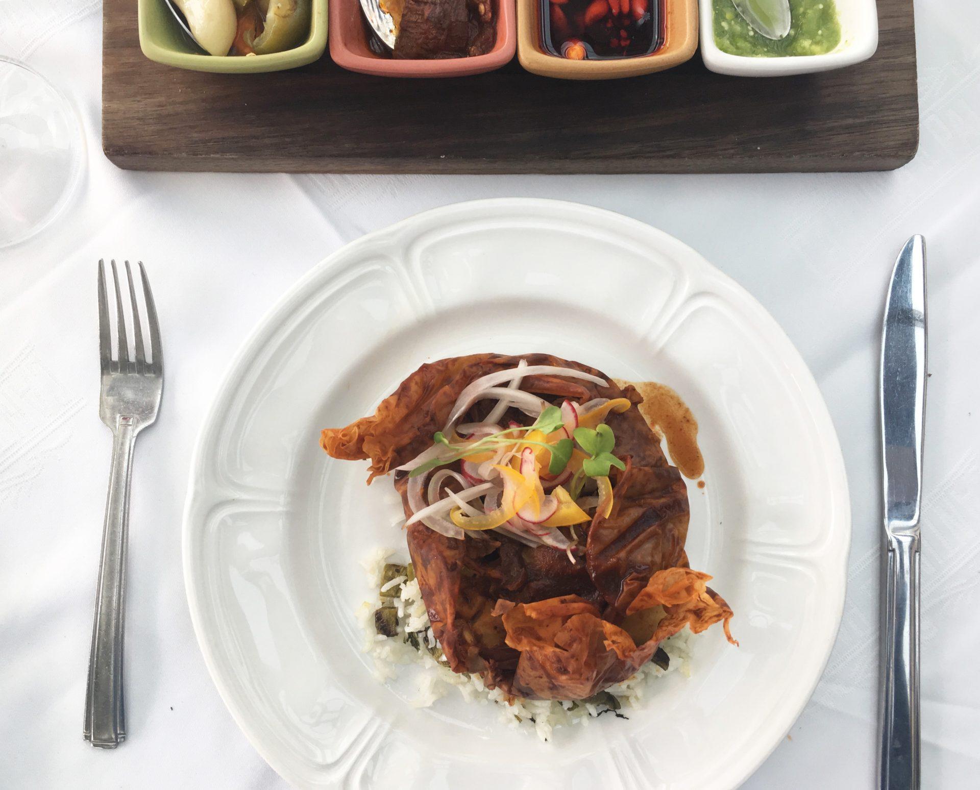 El chef Aquiles Chávez toma La Cantina Polanco