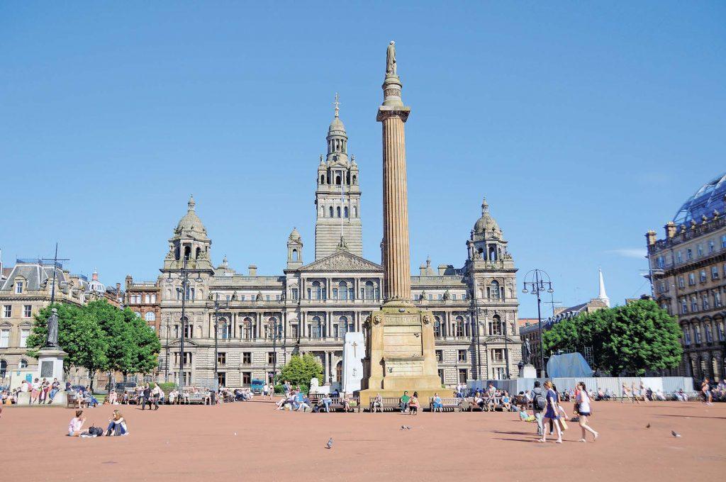 Glasgow, de belleza creativa