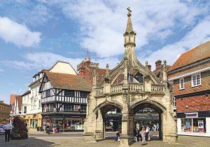 Salisbury, de belleza medieval