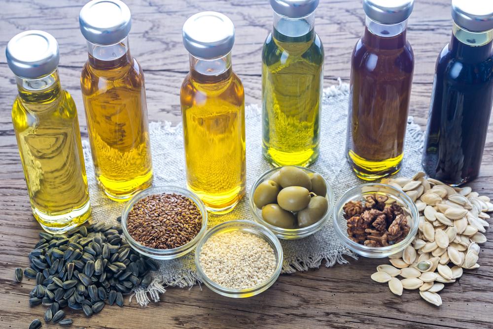 Cinco tipos de aceites y sus cualidades