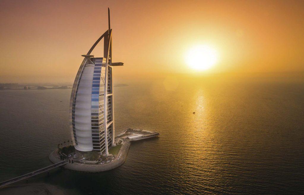 Burj Al Arab Jumeirah, esplendor árabe