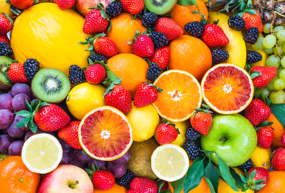 Deliciosa fruta de temporada