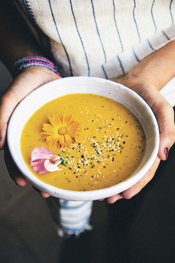 Yogisha sopa de  camote
