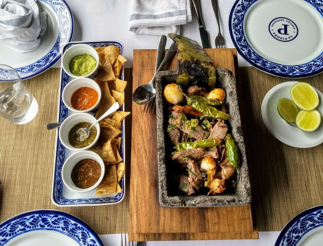 Cantina La Piedra, de delicias mexicanas