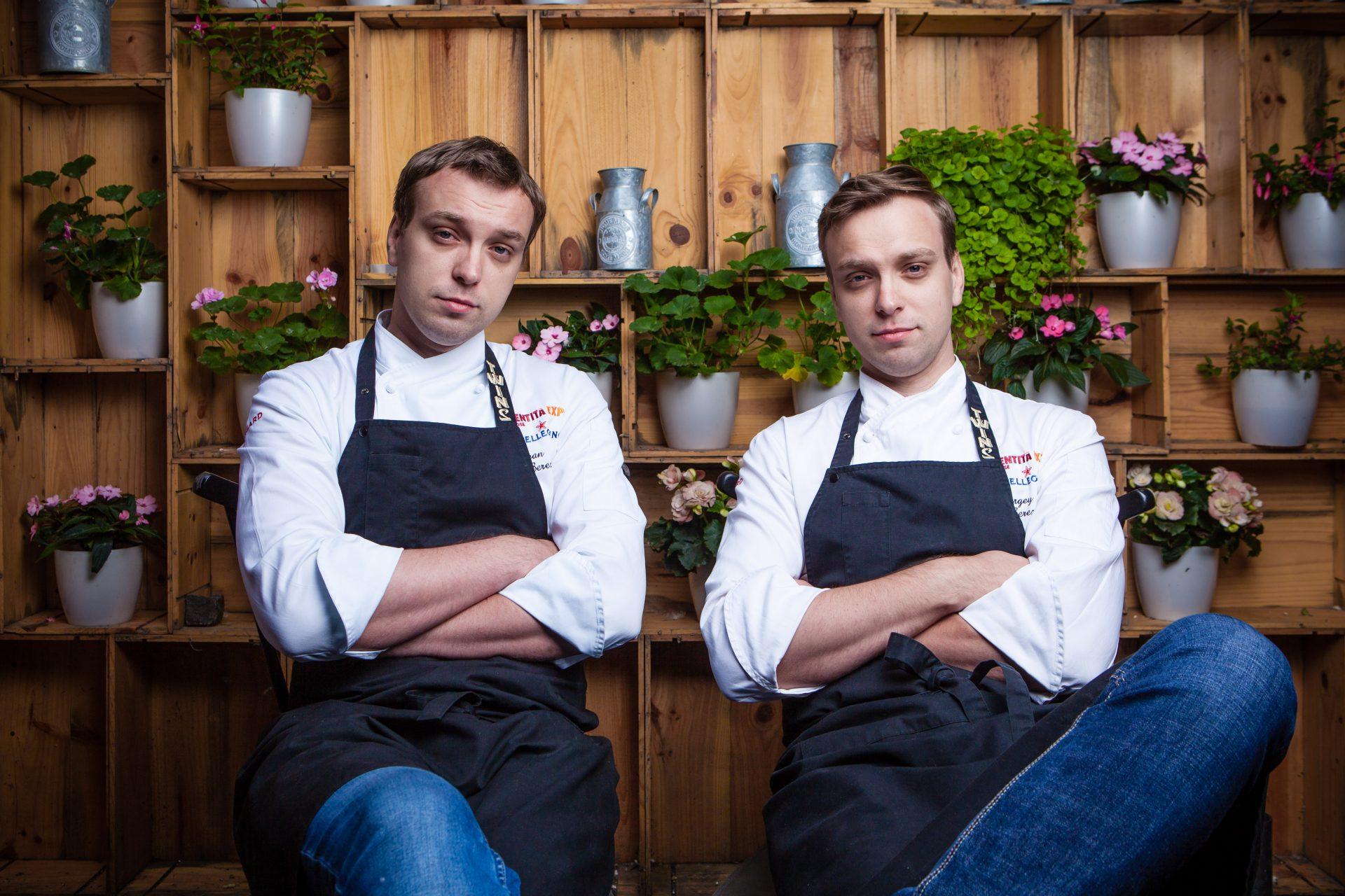 Twins: los gemelos rusos duplican el sabor