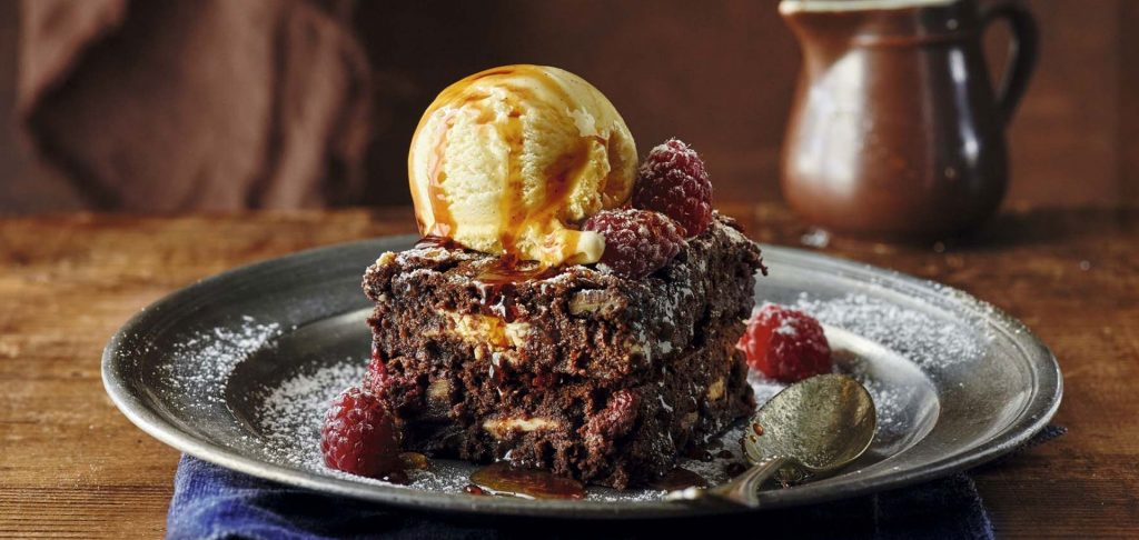 Brownie de chocolate doble