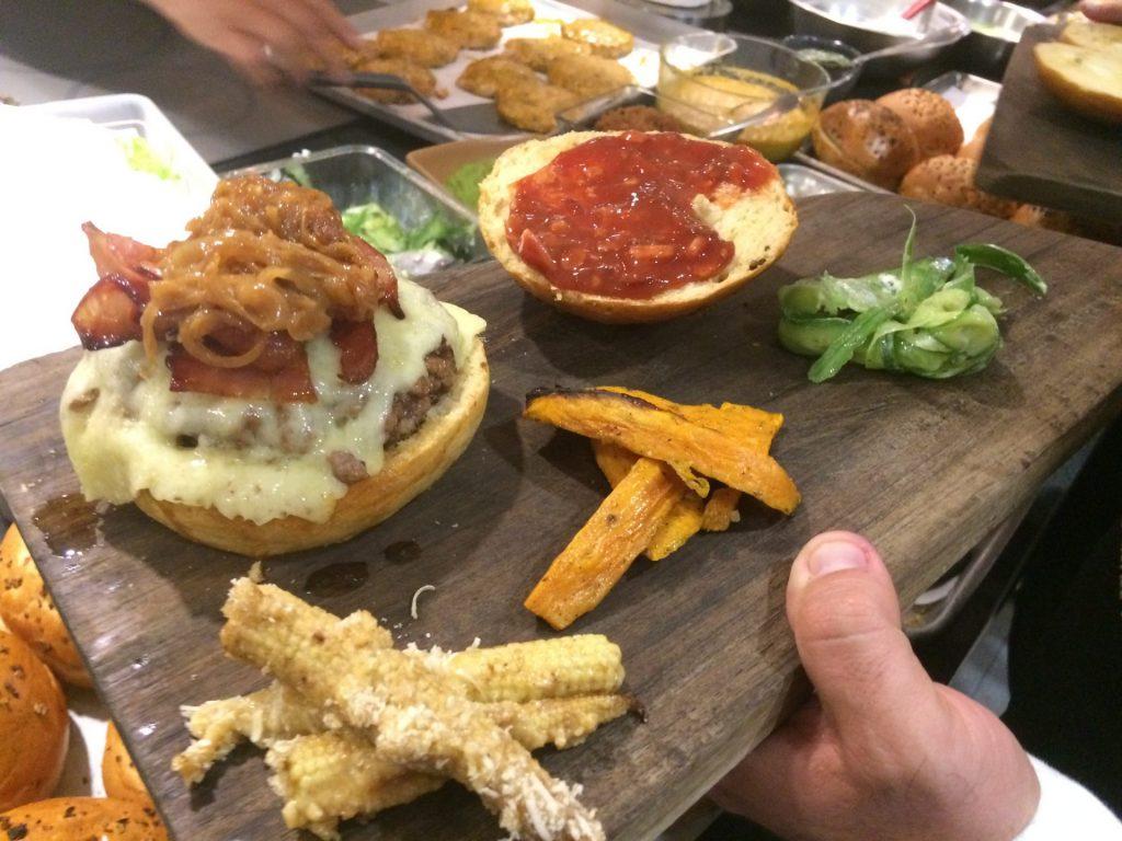 Taller de hamburguesas con el chef Pablo Carrera