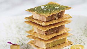 Mil hojas de foie gras