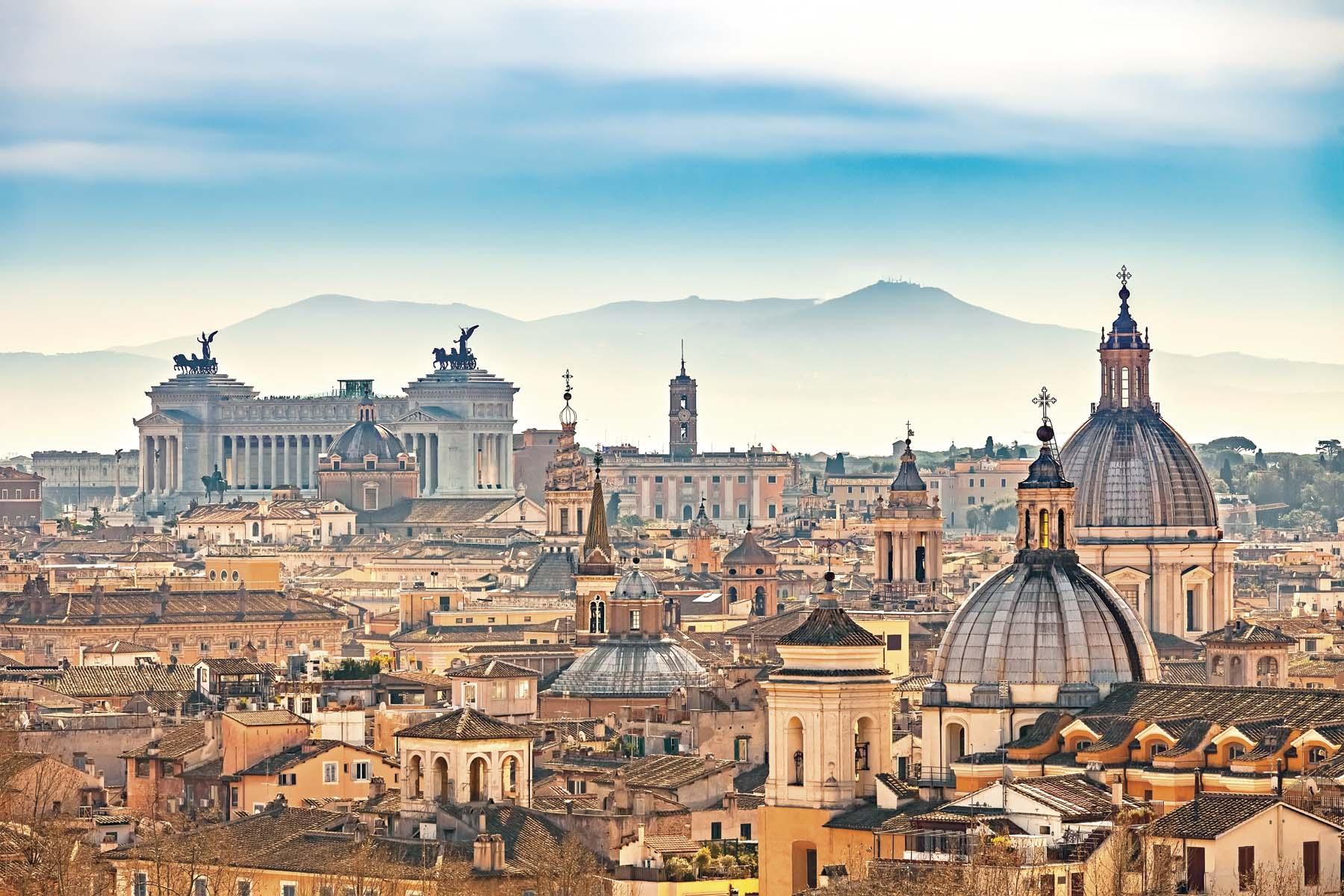 Roma, belleza histórica