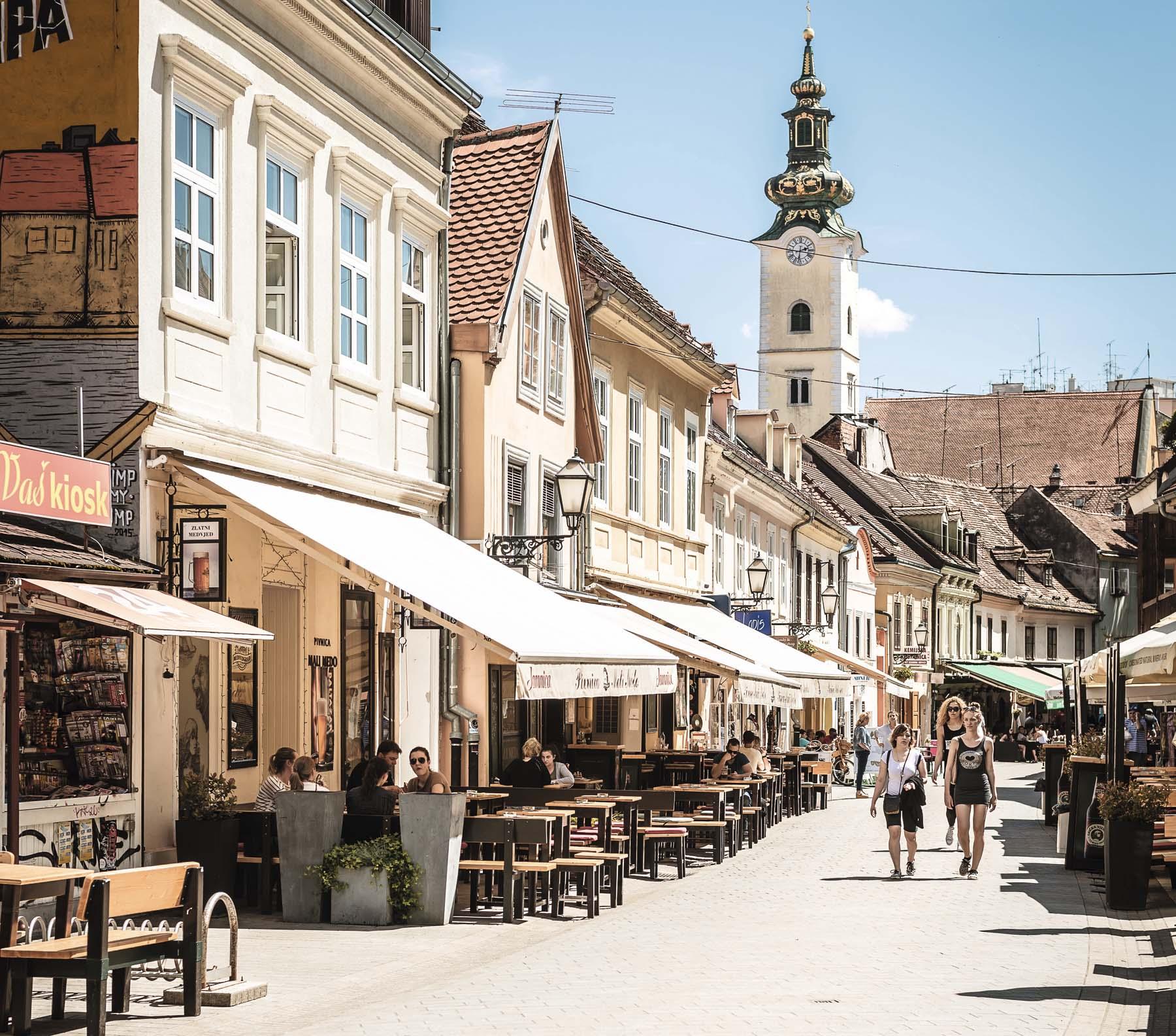 Zagreb, capital escarlata