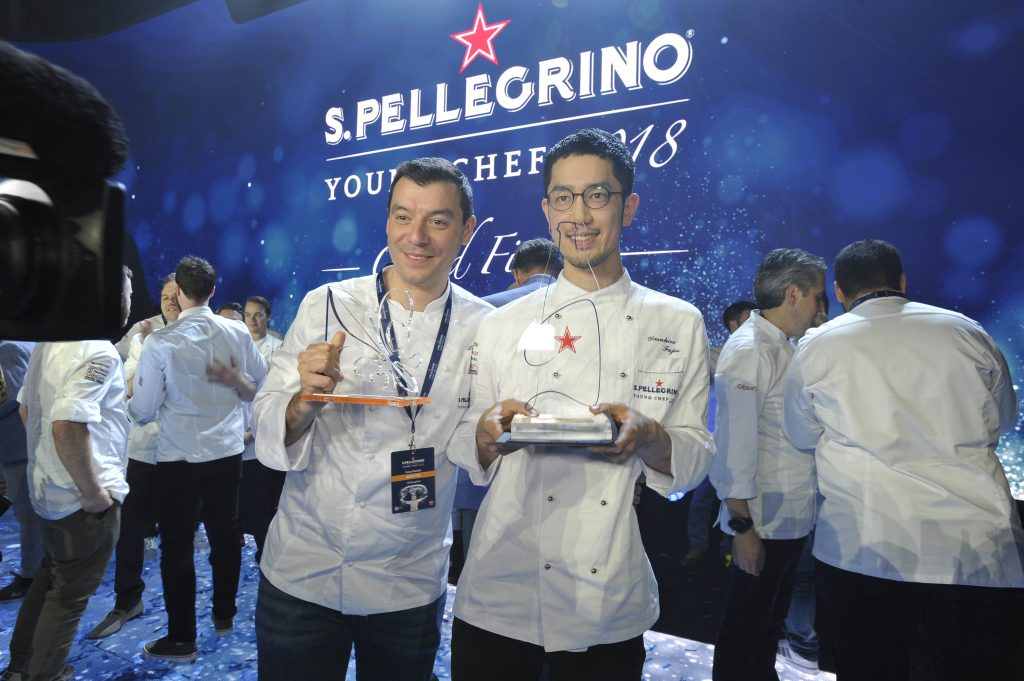 Yasuhiro Fujio es el nuevo Young Chef 2018