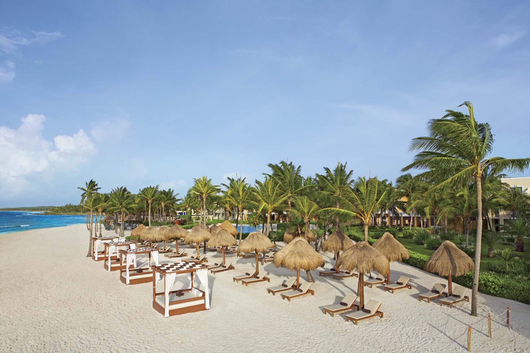 Dreams Resorts & Spas, vacaciones de lujo frente al mar