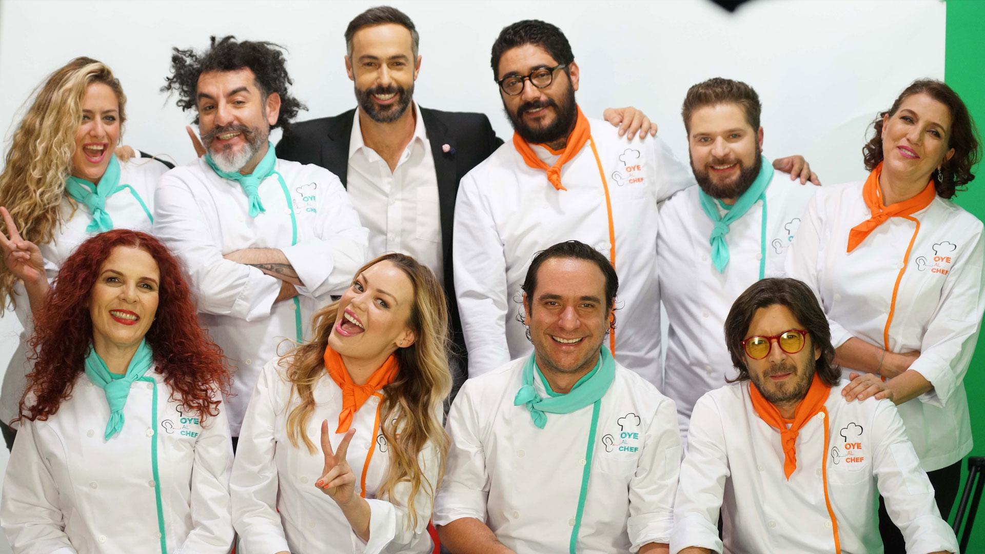 Oye al Chef, un show de cocina muy divertido