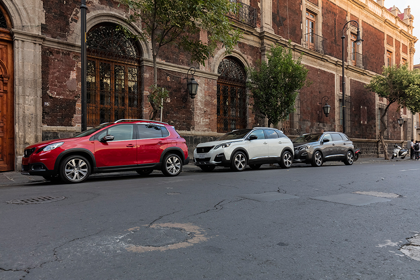 Peugeot nos llevó de paseo por la Ciudad de México