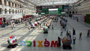 Una probadita de México en Rusia