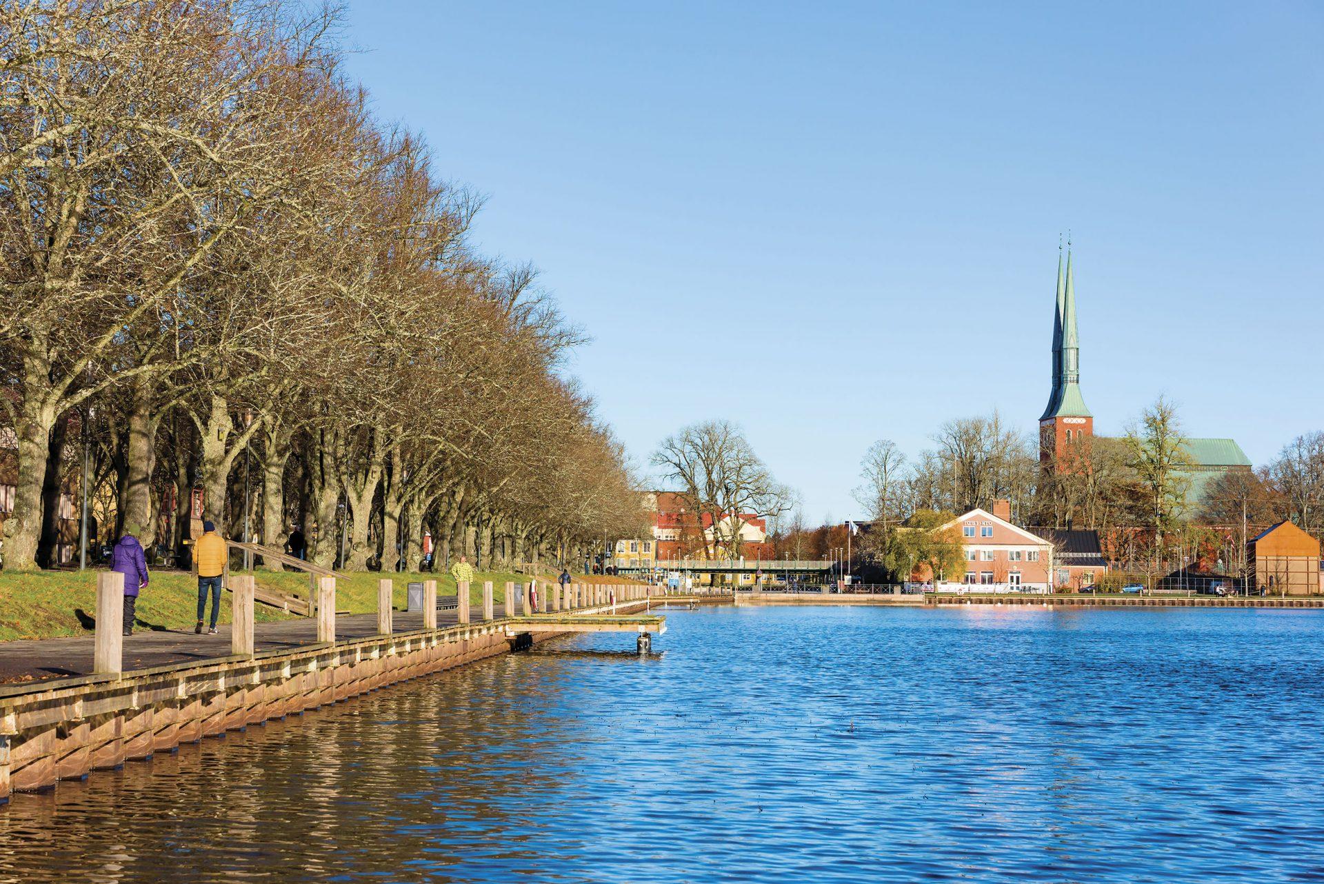 Växjö, un imperdible de Suecia