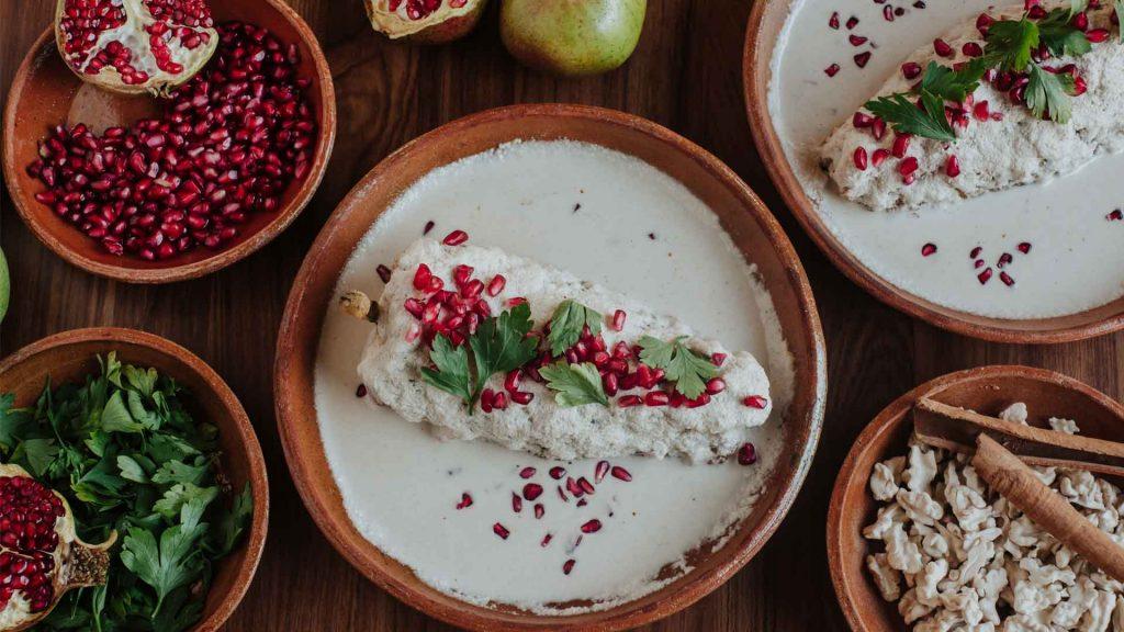 Los 5 mandamientos del chile en nogada