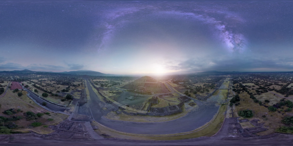 Viaja al pasado de Teotihuacán en realidad virtual
