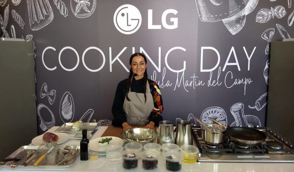 Un día en la cocina con LG