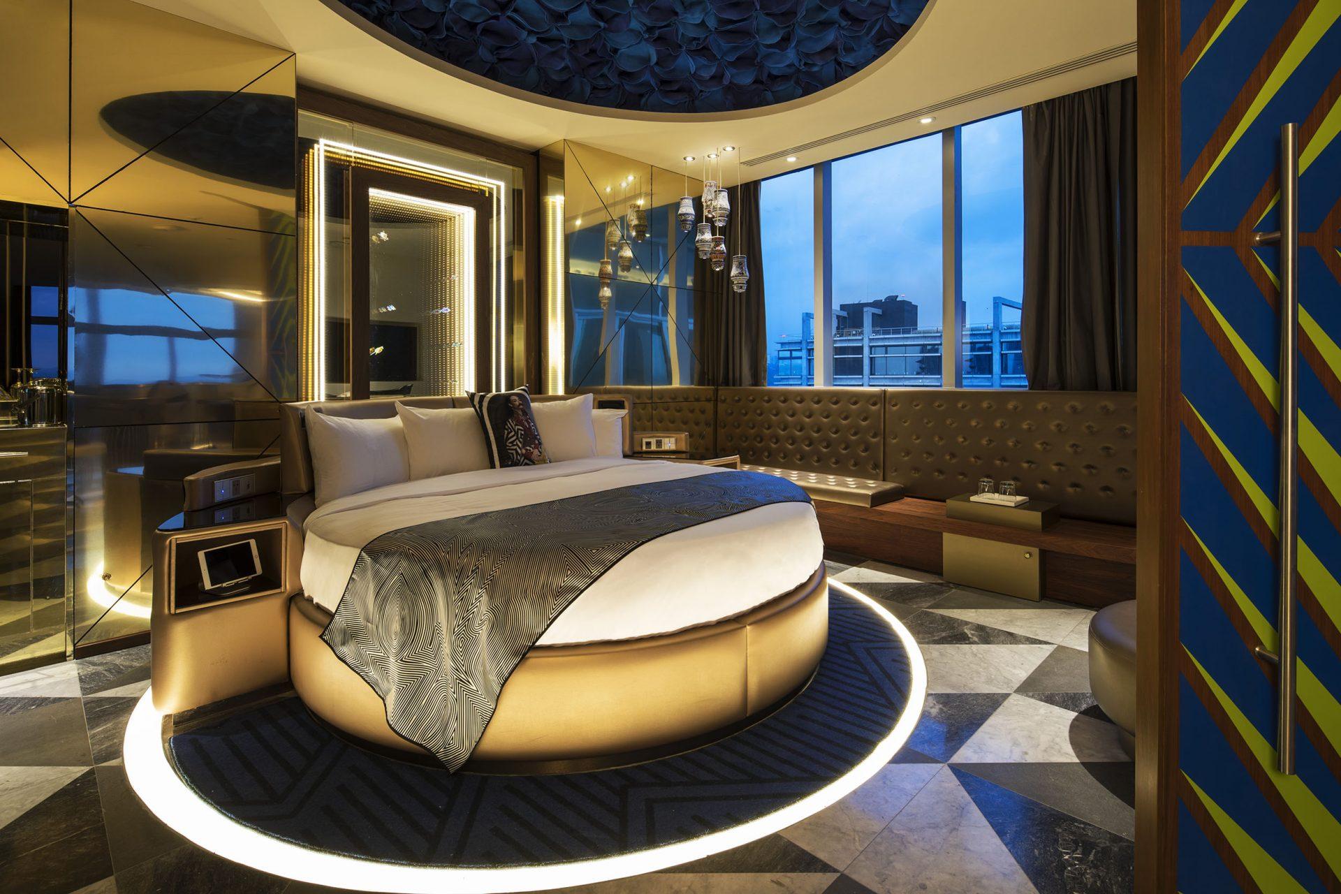 Hotel W de Ciudad de México reinaugura su E-Wow Suite