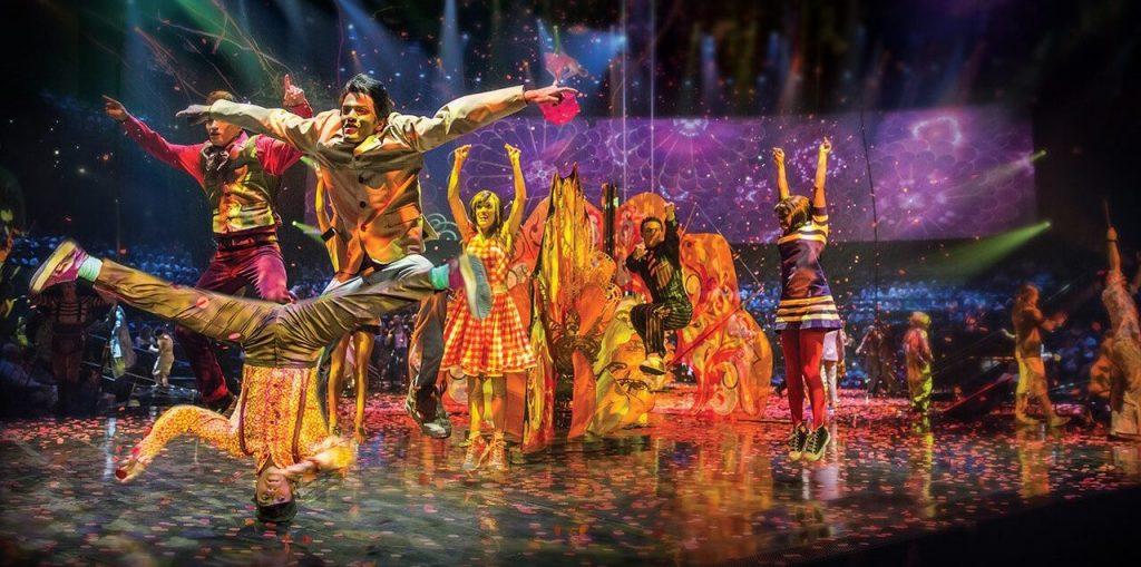 Cirque du Soleil, espectáculos inolvidables en Las Vegas