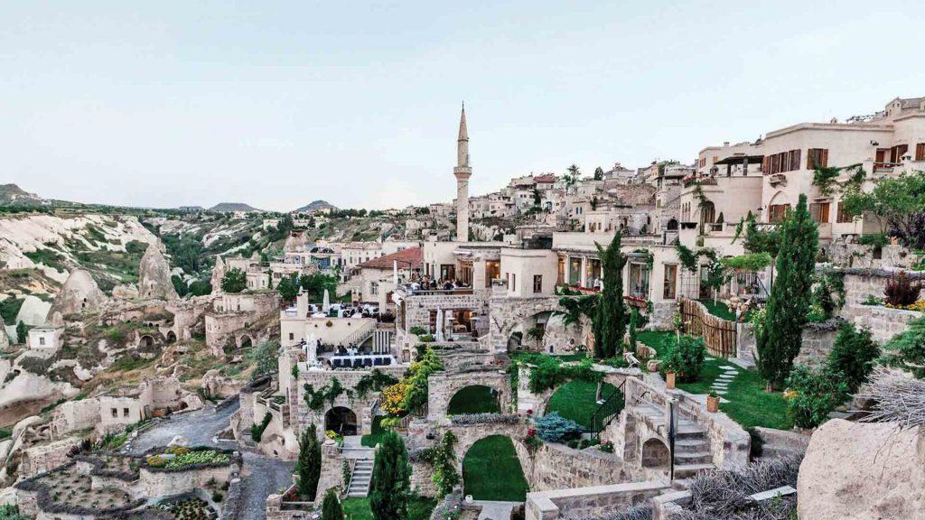 Argos in Cappadocia, Turquía: pasión en roca
