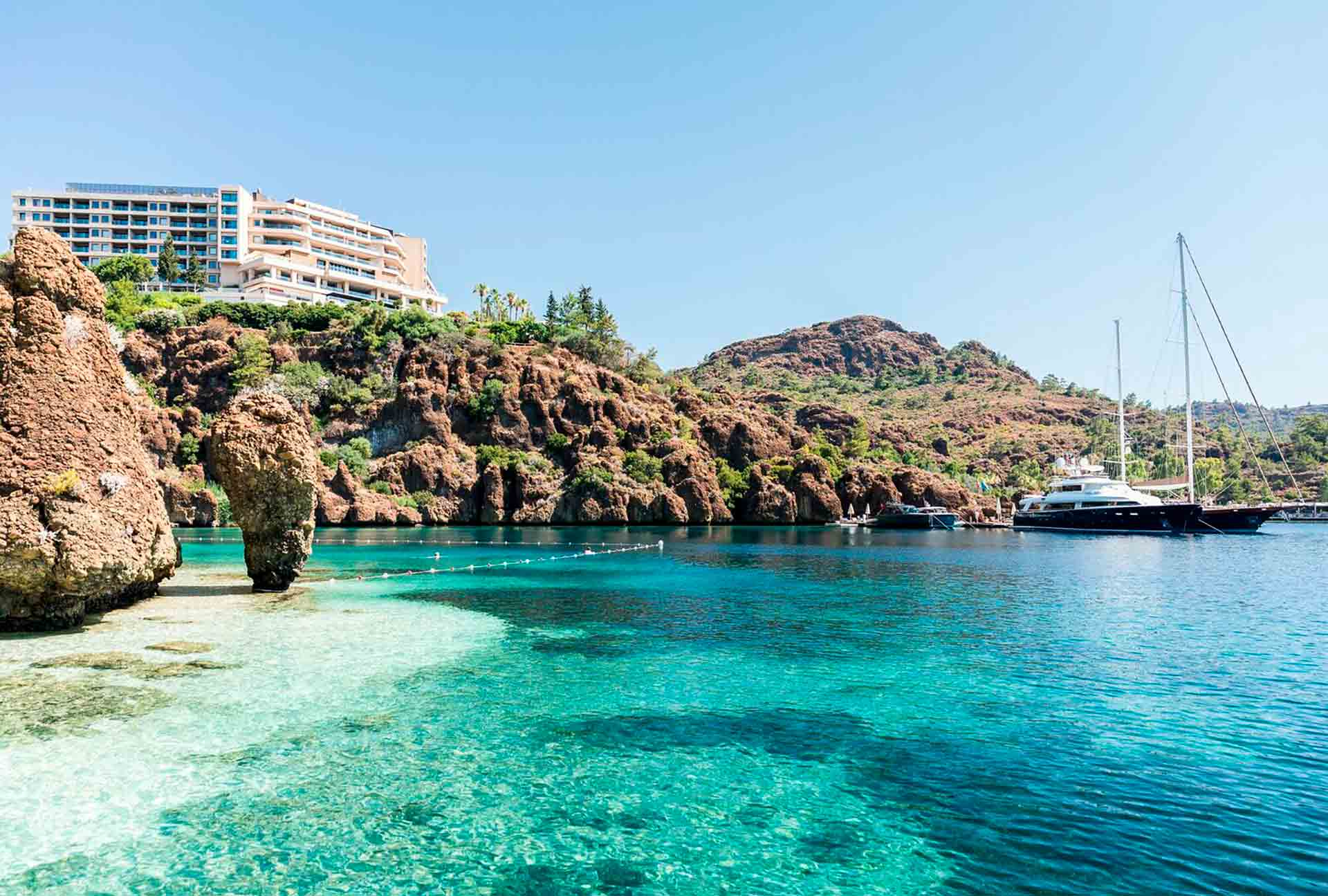 D Maris Bay, Turquía: paraíso remoto