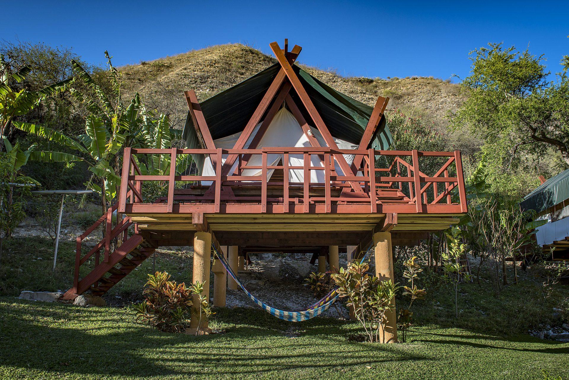 Cabaña en El Jabalí
