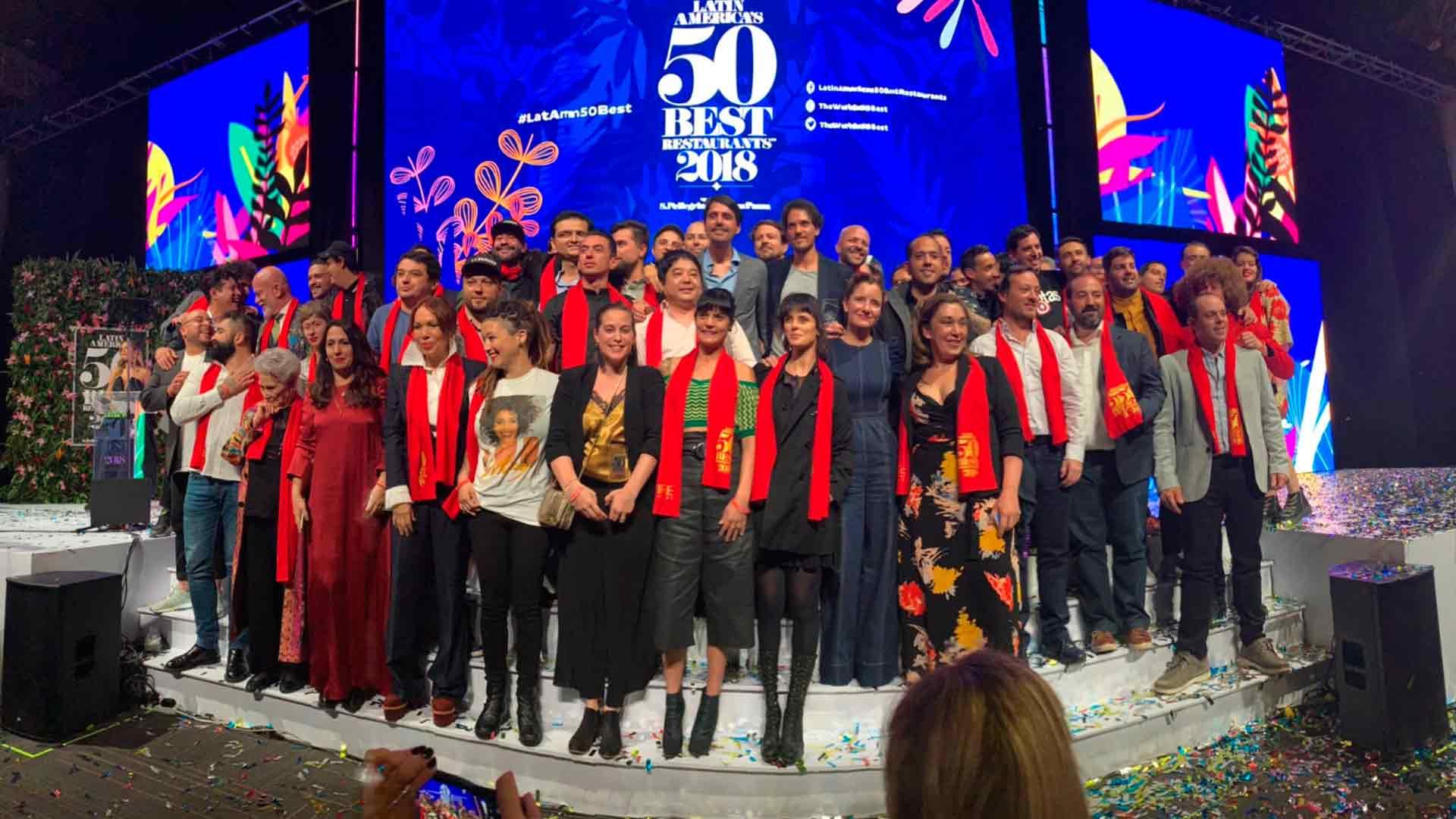 Conoce a los ganadores de los Latin America's 50 Best Restaurants 2019