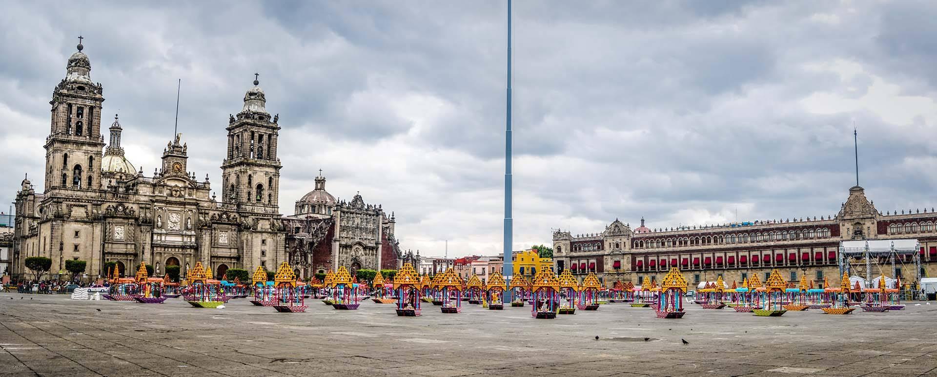 Todo listo para la Celebración de Muertos en Ciudad de México