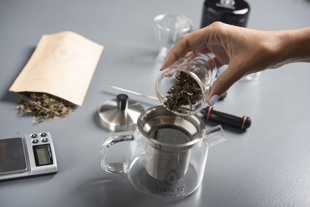 Infusión del té